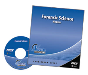 Forensic Science Module booklet and DVD